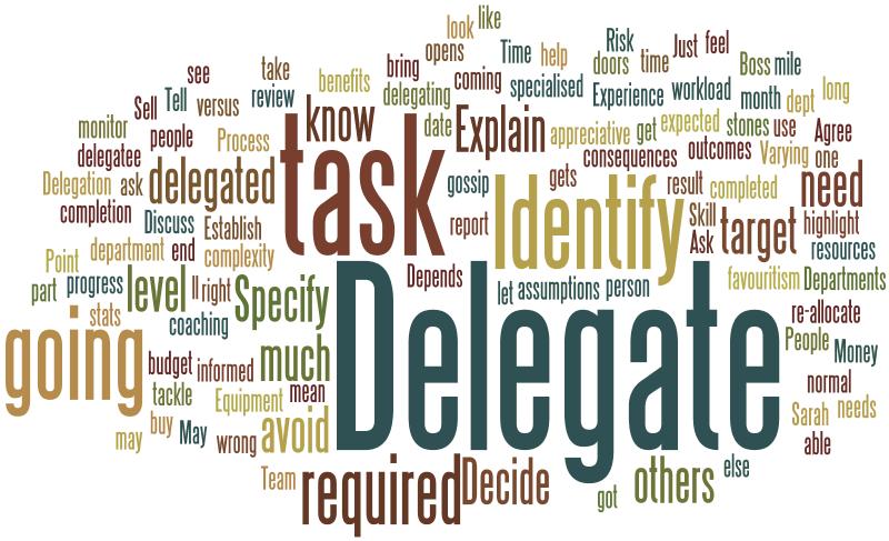 The Delegation Conundrum