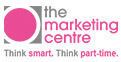 the marketing centre logo. think smart, think part-time