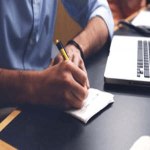 virtual assistant taking notes, Avirtual services