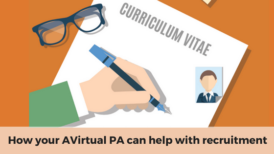 How your Outsourcery PA can help with recruitment