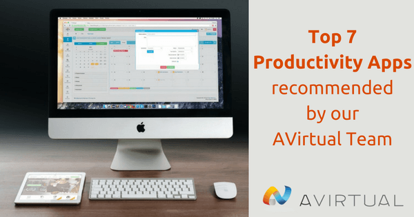 The top 7 productivity apps recommended by the Outsourcery team